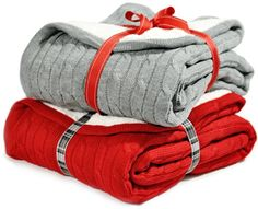 Cable Knit Sherpa Throw Cozy Reversible Lined Blanket, Gray or Red (Red) Soft Throw http://www.amazon.com/dp/B00KMYLATE/ref=cm_sw_r_pi_dp_hqnIub0P1J3Z1