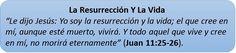 Frente al miedo a la #muerte, tienes la #resurrección y la #vida que te ofrece #Jesucristo