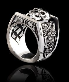 Roses - Rings  |  NightRider Jewelry