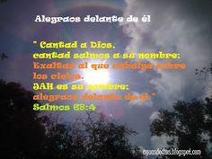 Compartamos la Palabra de Dios: Cantad a Dios, cantad salmos a su nombre