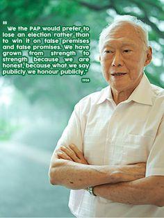 Remembering LKY