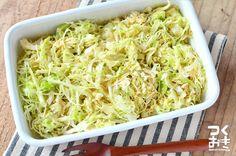 簡単野菜補給!キャベツのごまダレ | 作り置き・常備菜レシピサイト『つくおき』