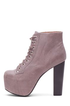 Jeffrey Campbell Shoes LITA in Mid Grey