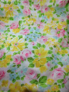 floral sheet roses double flat flower power gypsy by TheWabiSabi,