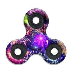Spinner Squad Fireworks Fidget Spinner! Voted #1 for fastest and longest spin!