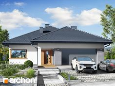 Projekt: Dom w kalateach 2 on Behance My House Plans, Facade House, Home Projects, Gazebo, Outdoor Structures, Modern Houses, Screenprinting, Outdoor Decor, Behance