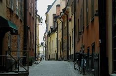 Gamla Stan, Stockholm's Old City - Spring, 2002