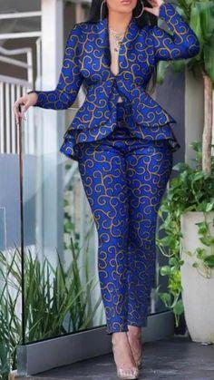 ankara mode Marlene v Marlene v African Maxi Dresses, Latest African Fashion Dresses, African Dresses For Women, African Print Fashion, Africa Fashion, African Attire, Ankara Fashion, Modern African Dresses, African Prints