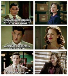 Reasons Why I Love Daniel Sousa: 1. He's perfect. 2. He's perfect. 3. He makes Peggy smile.