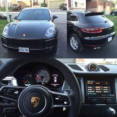 2016 Porsche Macan S in black on black. #porsche #macan #car