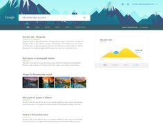Awesome redesign of #Google with Material Design by Aurélien Salomon