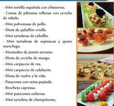 #ClippedOnIssuu from Carta de Pasapalos