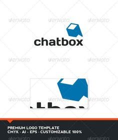 Chat Box Logo Template - GraphicRiver Item for Sale