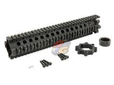 MadBull Daniel Defense 7.62 Lite Rail 12inch [MB-RIS-DD762L-12-AG] - US$114.70 : Airsoft Global!, Gun