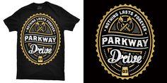 Mintees - Tees - Parkway Drive - Nothing Lasts Forever
