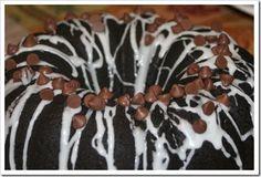 Gluten Free Chocolate Pumpkin Bundt Cake! Make it Gluten Free and visit www.absolutelygf.com for more! #desserts #recipes #glutenfree