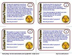 Reading Strategies Task Cards - 24 FREE Paragraph Cards - Rachel Lynette - TeachersPayTeachers.com