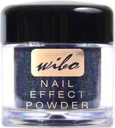 Rockowy pyłek do paznokci Wibo, Nail effect powder w odcieniu intensywnego grafitu pozwoli zadbać o uzupełnienie stylowego i szykownego manikiur.