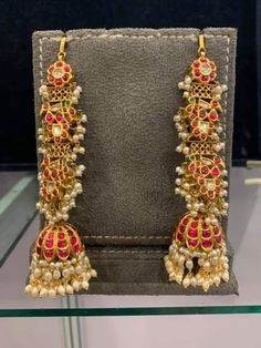 Nepali Jewellery Near Me under Nwj Jewellery Near Me, Jewellery Shops Paris Gold Jhumka Earrings, Gold Earrings Designs, Gold Jewellery Design, Ear Jewelry, India Jewelry, Bridal Jewelry, Fashion Necklace, Fashion Jewelry, Fashion Accessories