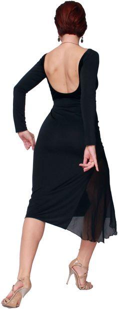 Naima Black Dress by Selalma on Etsy