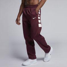 64abc1dc1494 Nike Therma Elite Men s Basketball Pants Size 4XL Tall (Team Dark Maroon) Basketball  Pants