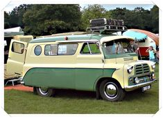 1958 Bedford CA Dormobile Camper Van
