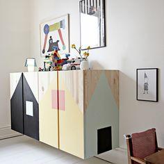 Sinfonier infantil pintado #decoración #mueble #hogar