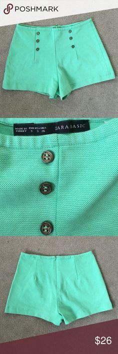 """Zara Short Size Small Excellent condition waist 14"""" inseam 2"""" Zara Shorts"""