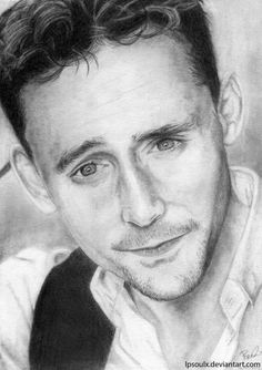 Tom Hiddleston by LPSoulX.deviantart.com on @DeviantArt
