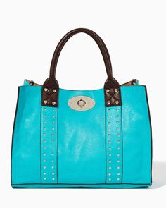 Just bought this bag today. Love the color and lightweight charm. Charming charlie | Watson Bag-in-Bag Satchel | UPC: 450900479008 #charmingcharlie
