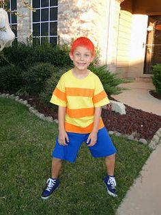 homemade phineas halloween costume - Phineas Halloween Costume