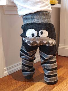 Lykketrollet: Monsterbukse Leg Warmers, Legs, Knitting, Crochet, Pants, Fashion, Crafts, To Study, Creative