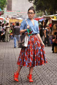 Danny Foto: México Lindo y Querido Streetstyle