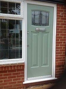1930s front door leaded glass (206.2) | Doors | Pinterest | Lead ...