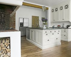 Willow Decor: Swedish Kitchens from Kvänum Kok