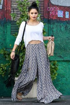 Vanessa Hudgens is the epitome of boho chic and I think that's a cool vibe!
