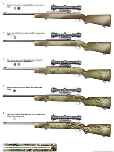 How to paint your gun Multicam (LOTS OF PICS DIALUP BEWARE) - Calguns.net