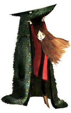 amélie fléchais: Little Red Riding Hood