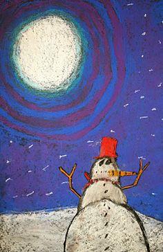 more snowmen at night ideas