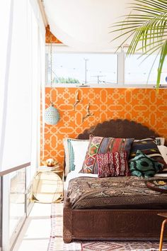 Justina Just Launched Her VERY GOOD Target X Jungalow Line (And These Are Our Favorites:)) - Emily Henderson Home Bedroom, Bedrooms, Master Bedroom, Floor Lamp With Shelves, Justina Blakeney, Multifunctional Furniture, Wall Art Sets, Frames On Wall