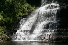 The best swimming holes in Virgina- not too far away, but a new enough experience to be worthy of a weekend road  trip!