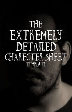 "Read ""Extremely detailed character sheet template"" from the story Extremely detailed character sheet template by kollij. Creative Writing Tips, Book Writing Tips, Writing Words, Fiction Writing, Writing Resources, Writing Help, Writing Skills, Writing Prompts, Writing Guide"