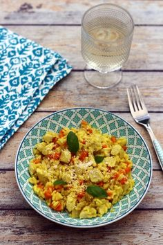 Risotto au poulet carotte et curry Healthy Drinks, Healthy Recipes, Risotto Recipes, Tasty, Yummy Food, Kfc, Couscous, Bon Appetit, Food Videos