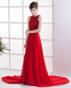 A-line Floor-length Zipper Strapless Natural Vintage Prom Dresses-Special  occasion dresses fa46e5363fdb