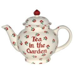 Emma Bridgewater Tiny Rose Four Cup Teapot Personalised