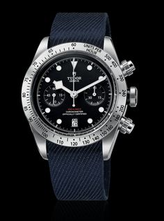 TimeZone : Industry News » Basel 2017 - Tudor Heritage Black Bay Chronograph