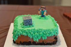 #Minecraft Cake