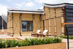 Sun-Powered Bambu House Sprouts at Solar Decathlon Europe