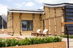 Sun-Powered Bambu House Sprouts at Solar Decathlon Europe