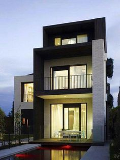Fachadas | Modern Outdoors | Pinterest | Architecture, House and ...